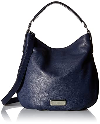 13ff0d358f7 Amazon.com: Marc by Marc Jacobs New Q Hillier Hobo, India Ink: Marc ...