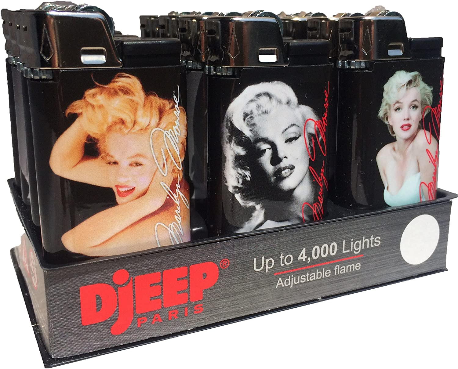 12ct Marilyn Monroe Eclipse Djeep Lighters 911SsdYZeML