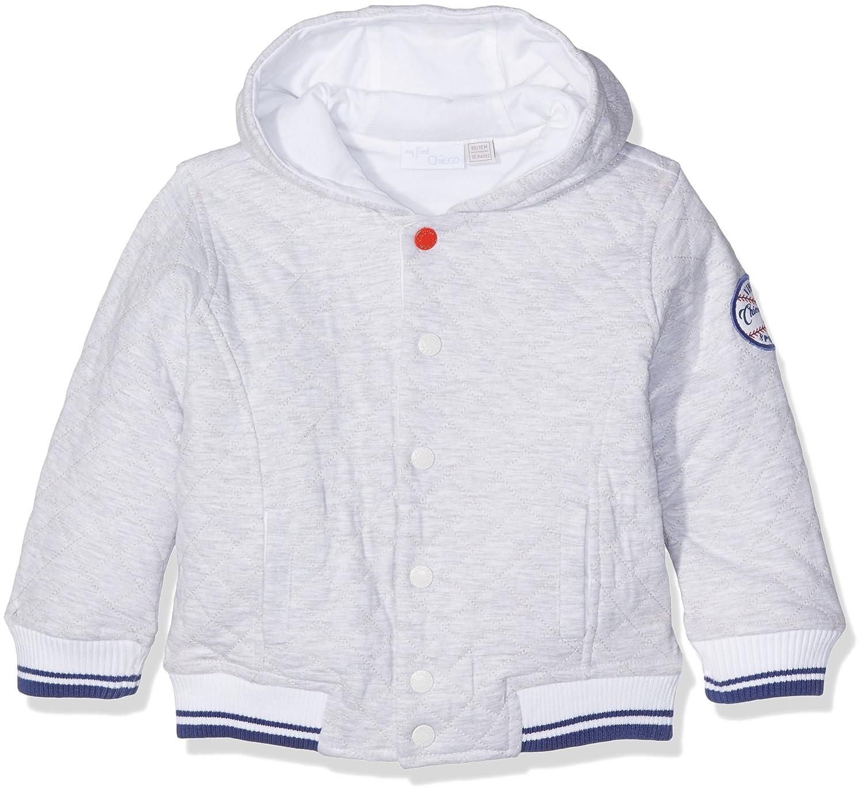 Chicco, Cardigan Bambino Chicco 09096342000000 Cardigan Bimbo Grigio (Light Grey) 80 (Taglia Produttore:080)