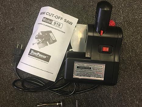 Gino Development TruePower 919 Mini Miter Cut-Off Saw