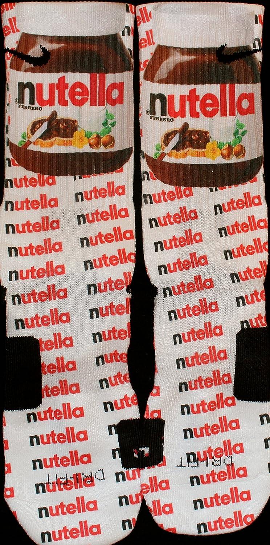 Nike Nutella Inspirado Custom élites tamaño Grande: Amazon ...