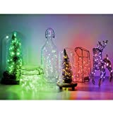 Asmader Fairy Lights Plug in Multi Color Change
