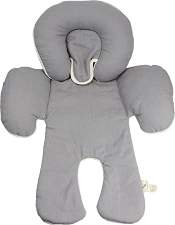 Mittens Pack Gray DorDor and GorGor Reversible Infant Head Support Organic Cotton