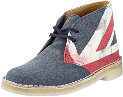Clarks Desert Boot 20349095 Botas de Lona para Mujer