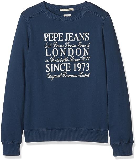Pepe Jeans Shani JR PG580620, Sudadera para Niñas, Azul (Ocean 588) 12