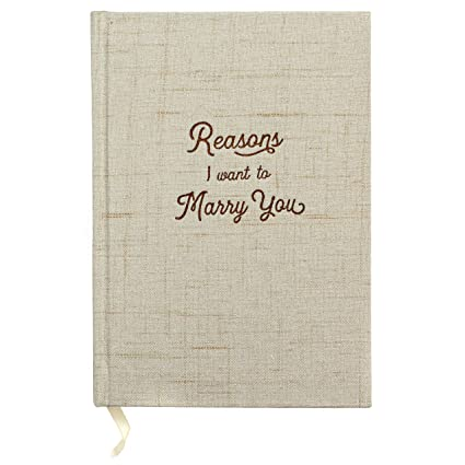 reasons i want to marry you wedding gift notebook write love letters to and from