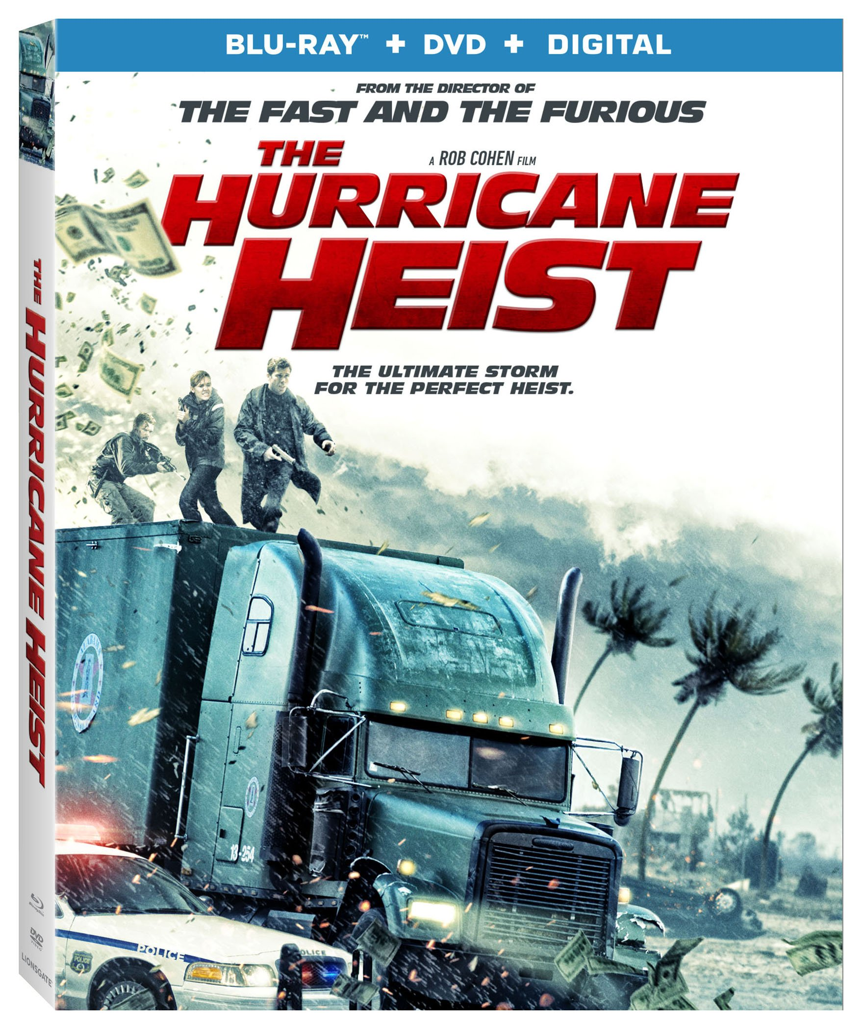 Blu-ray : The Hurricane Heist (With DVD, Ultraviolet Digital Copy, 2 Pack, Eco Amaray Case, 2PC)