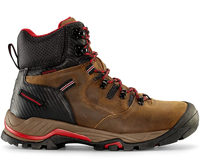 "Maelstrom Zion Men's 6"" Earth Brown Waterproof Work Boot"