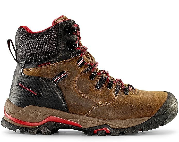 "Maelstrom Zion Men's 6"" Earth Brown Waterproof Work Boot"