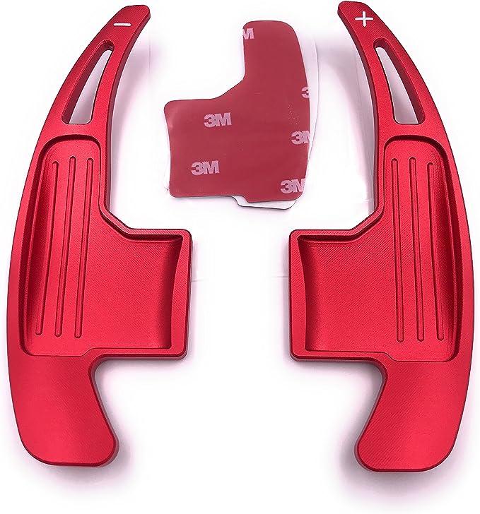 H Customs Dsg Dkg Schaltwippen Verlängerung Shift Paddle Mustang 15 17 Eloxiert Rot Auto