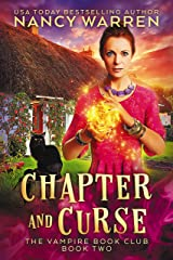 Chapter and Curse: A Paranormal Women's Fiction Cozy Mystery (Vampire Book Club 2) Kindle Edition