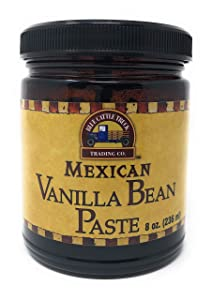 Blue Cattle Truck Trading Co. Gourmet Mexican Vanilla Bean Paste, 8 Ounce
