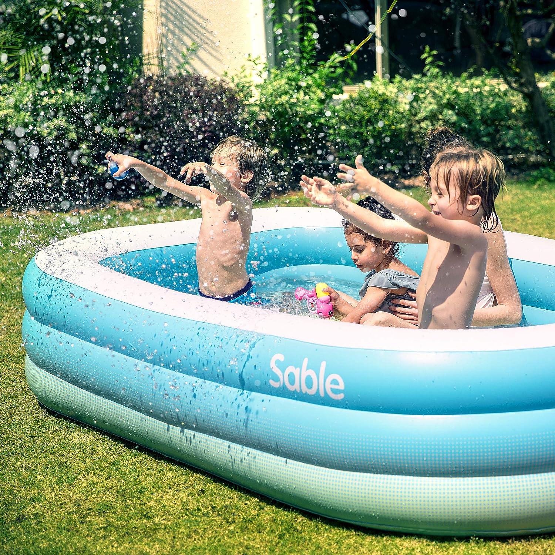 Amazon.com: Piscina hinchable Sable, piscina central de ...