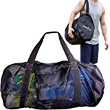Athletico Mesh Dive Duffel Bag for Scuba or Snorkeling - XL Mesh Travel Duffle for Scuba Diving and Snorkeling Gear & Equipme