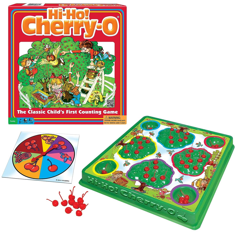 Amazon.com: Hi - Ho! Cherry - O Board Game: Toys & Games
