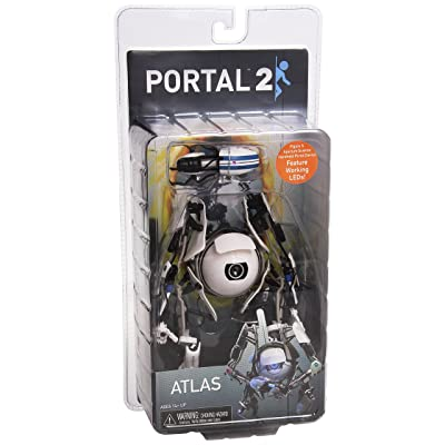 Portal 2 – 7″ Atlas Deluxe Action Figure with LED Lights: Video Games