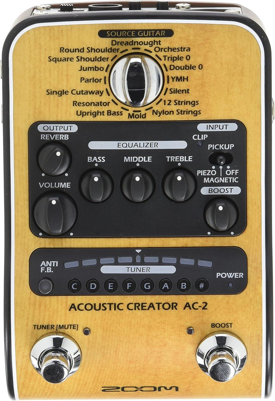 Zoom AC-2Pedal para guitarra acústica