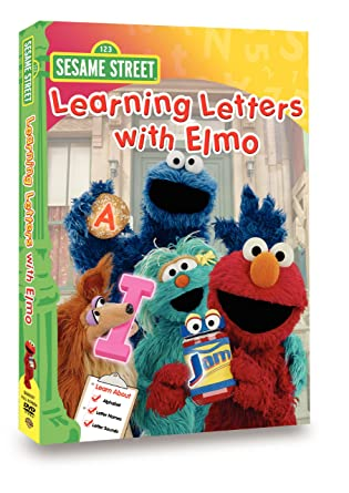 Amazon Sesame Street Learning Letters with Elmo Caroll