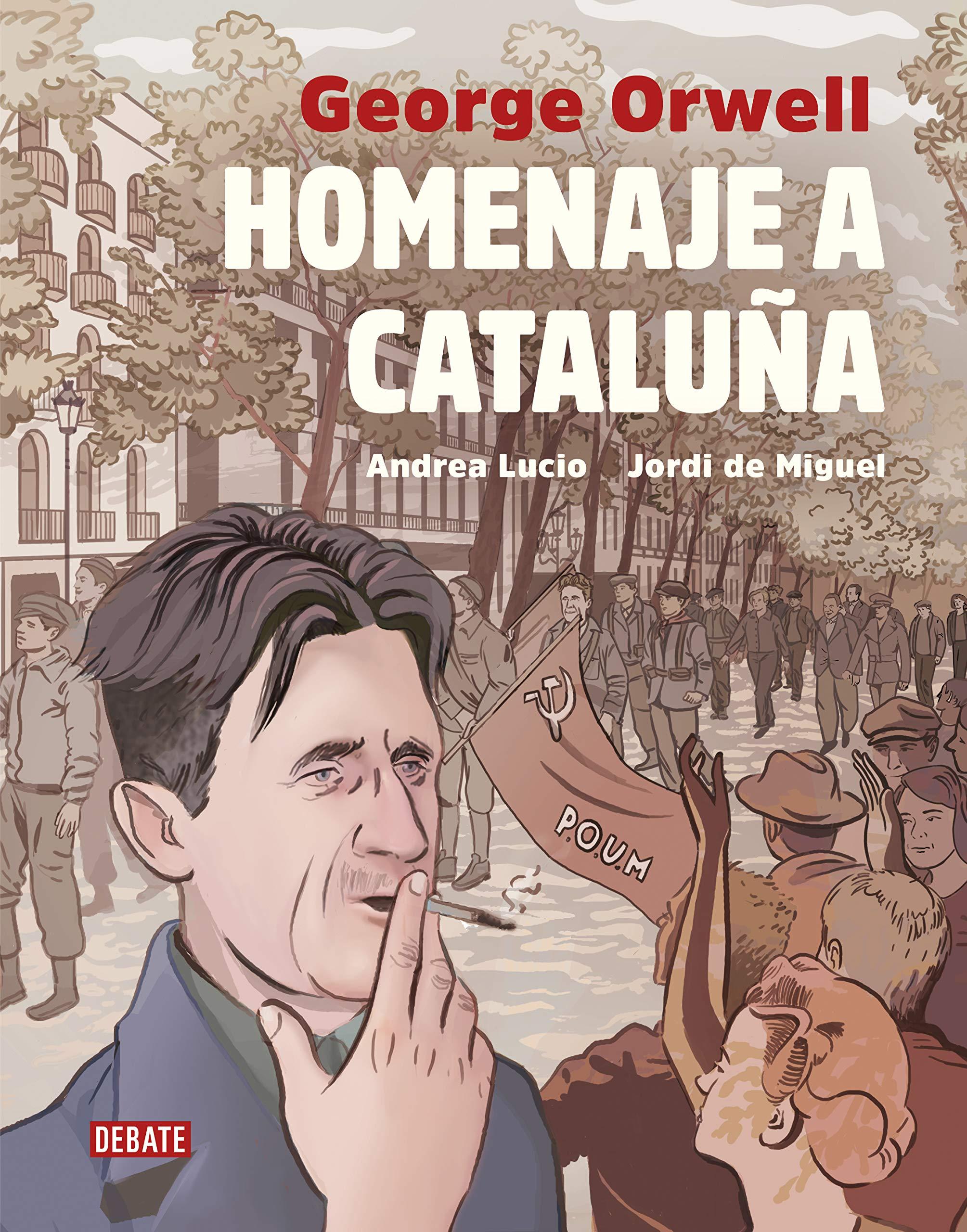 Homenaje a Cataluña (versión gráfica) (Historia): Amazon.es: Lucio ...
