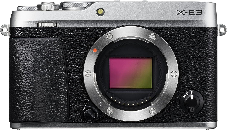 Fujifilm X-E3 - Cuerpo de cámara EVIL de 24.3 MP, color plata