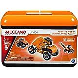 Meccano-Erector Junior Advanced Toolbox, 8 Model Building Kit