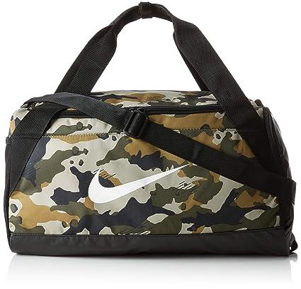 561935863a Nike NK Brsla S Duff AOP Sac à Main Mixte Adulte, Multicolore (Neutrl Olive