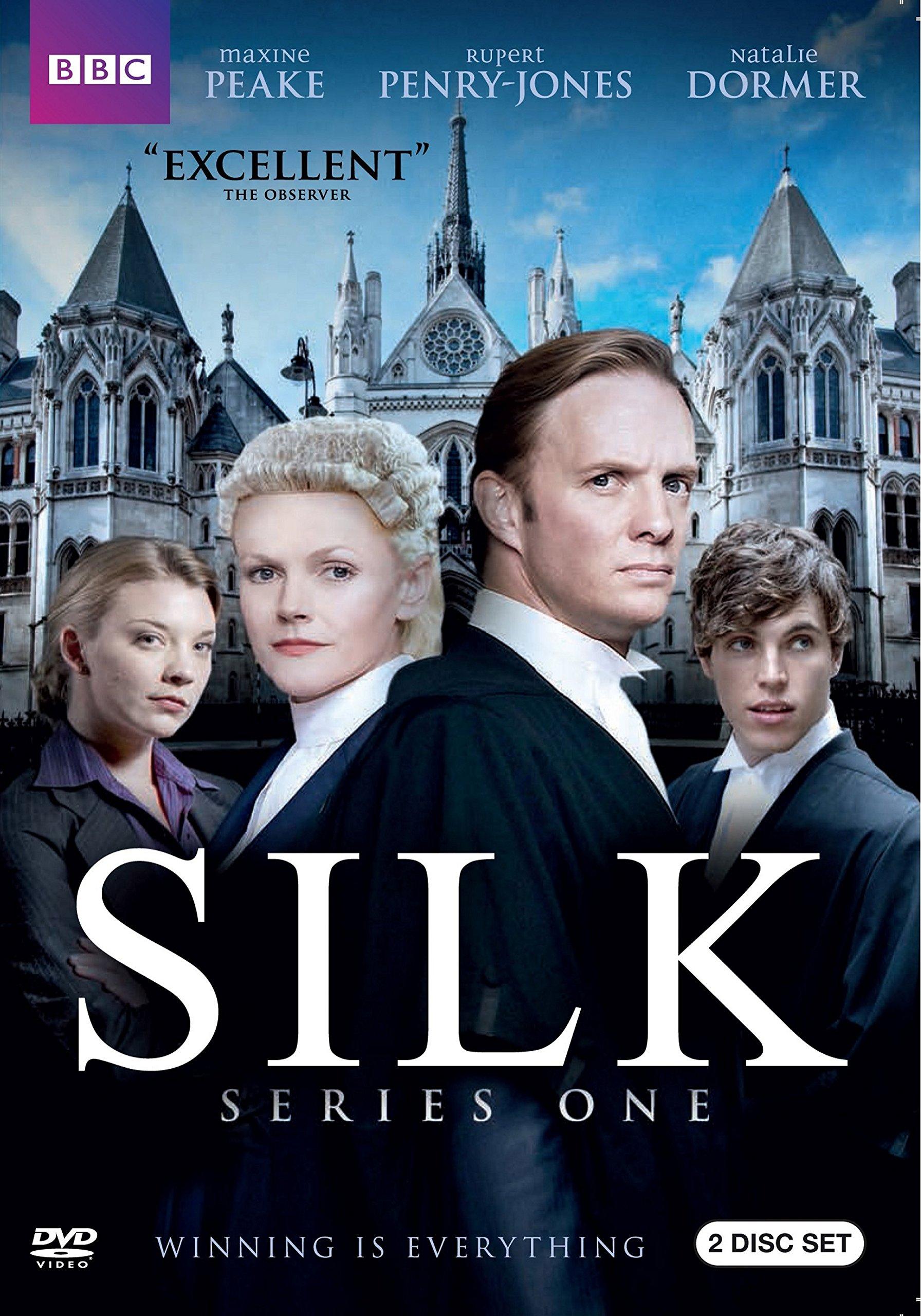 DVD : Silk: Season One (2 Pack, Eco Amaray Case, 2 Disc)