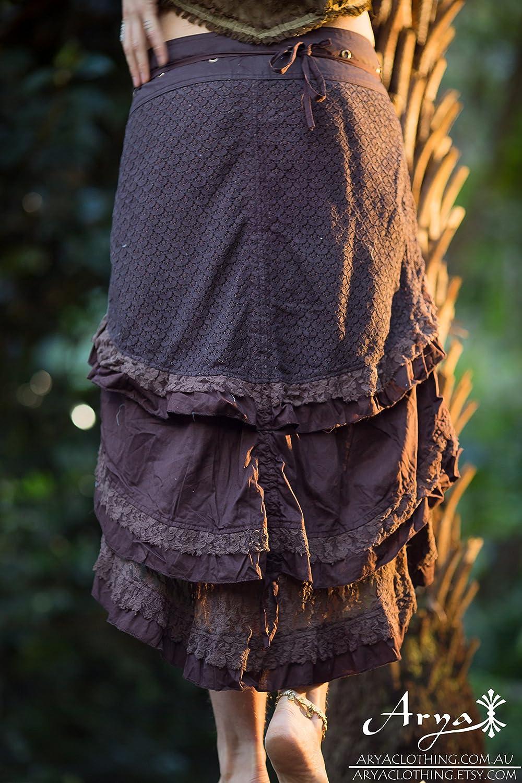 Wrap Skirt Double Layer Skirt Bohemian Wrap Skirt STIC #109 Festival Flamenco Skirt Gypsy long Wrap Skirt Maxi Skirt Women Gypsy Skirt