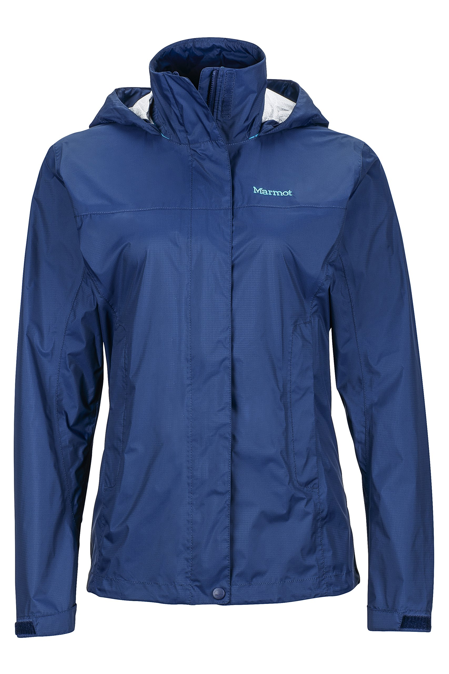 Marmot PreCip Women's Lightweight Waterproof Rain Jacket, Arctic Navy, X-Small