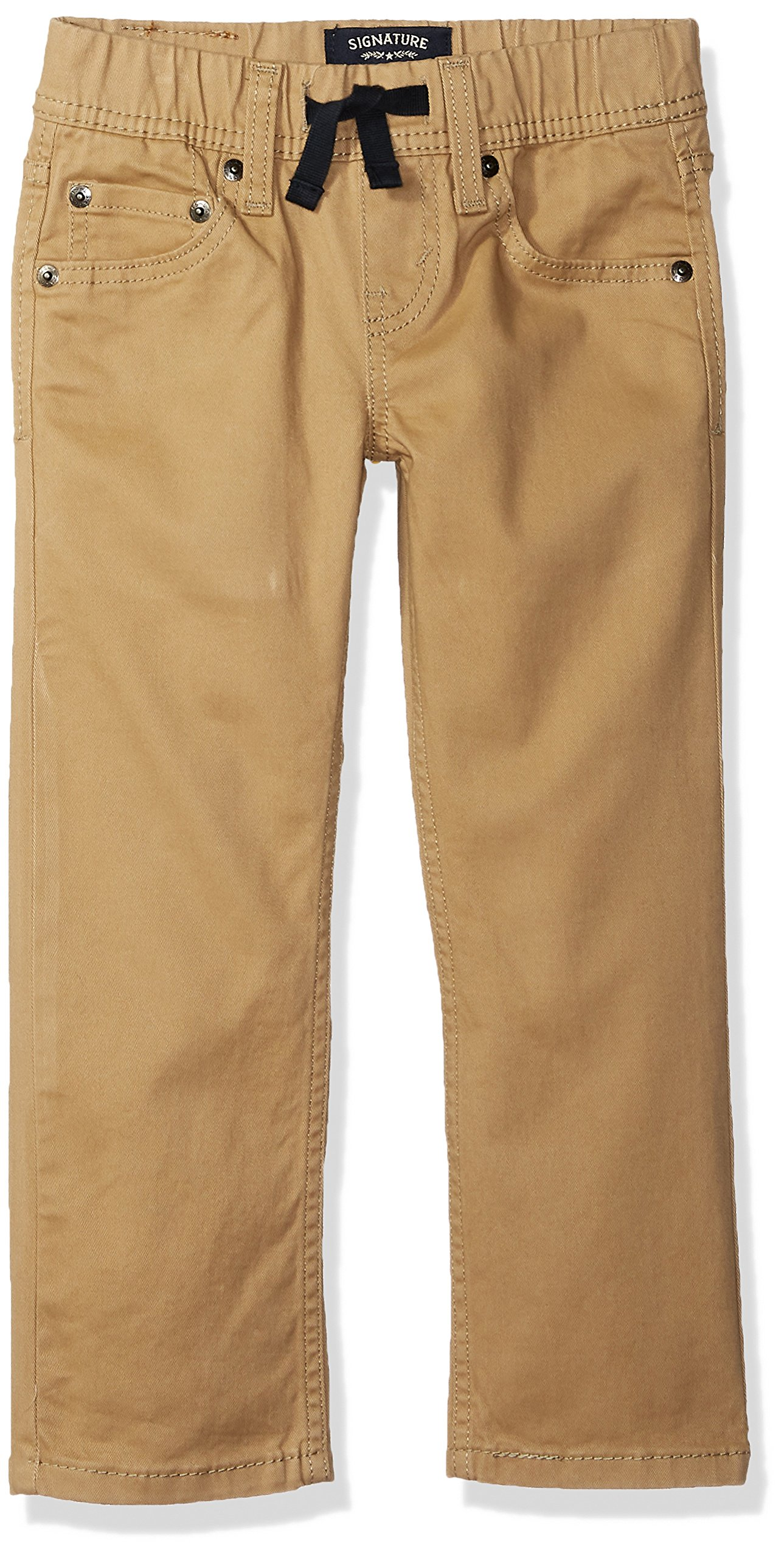 Signature by Levi Strauss & Co. Gold Label Little Boys' Athletic Recess Fit Jeans, British Khaki, 5