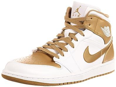 Jordan Nike Air 1 Phat Mens Basketball Shoes 364770-130 White 10 M US 485ef0eaa