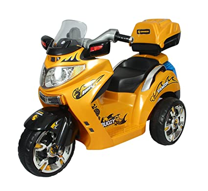 7d274e4b40e Buy HLX-NMC Dragon Buggy Bike for Kids - Yellow Online at Low Prices in  India - Amazon.in