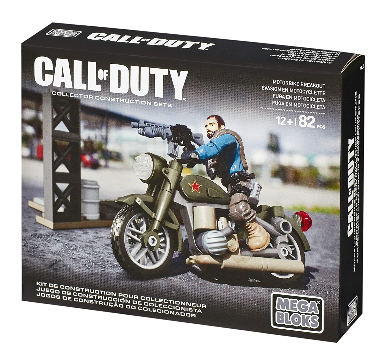 Megabloks Montreal DCL03 Mega Bloks Call Of Duty Motorbike Breakout Mega Brands America Inc