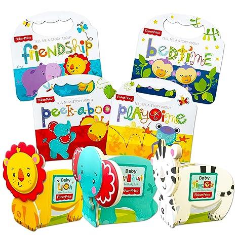Fisher Price Baby Toddler Beginnings Board Books Super Set ...