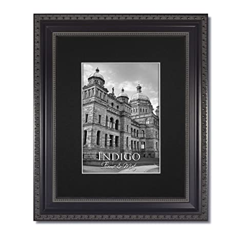 Amazon One 16x20 Ornate Heritage Black Picture Frames And Clear