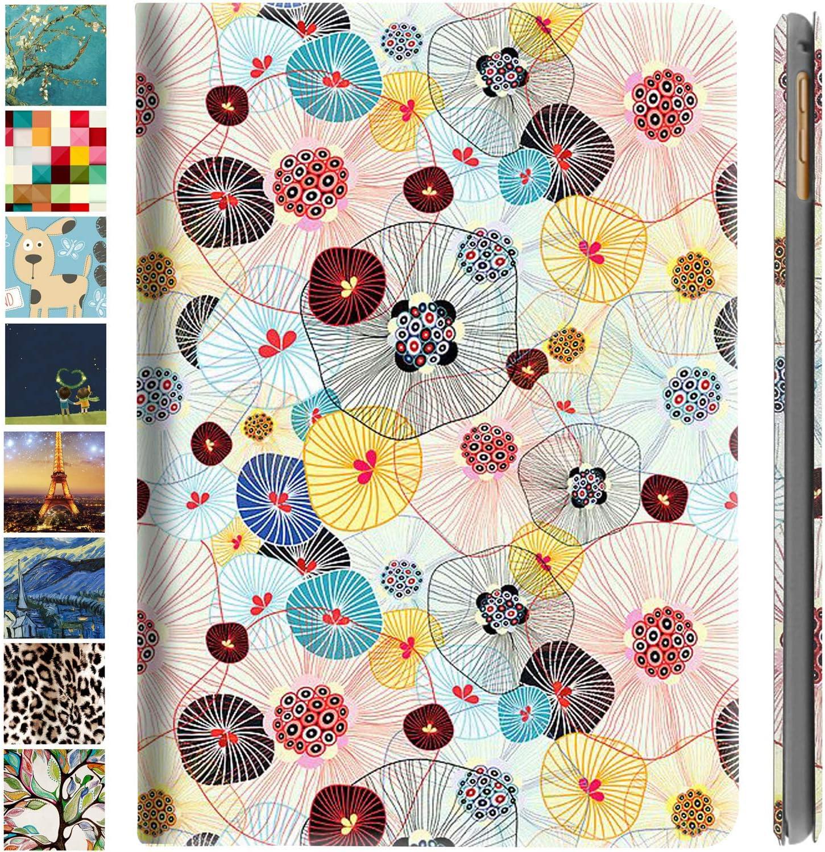 DuraSafe Cases iPad PRO 11 2020 MY232LL/A MXDC2LL/A MXDE2LL/A MXDG2LL/A MY252LL/A MXDD2LL/A MXDF2LL/A MXDH2LL/A MY332LL/A MXEW2LL/A MXEY2LL/A Ultra Slim Cover, Auto Sleep/Wake Function - Yarn Flowers