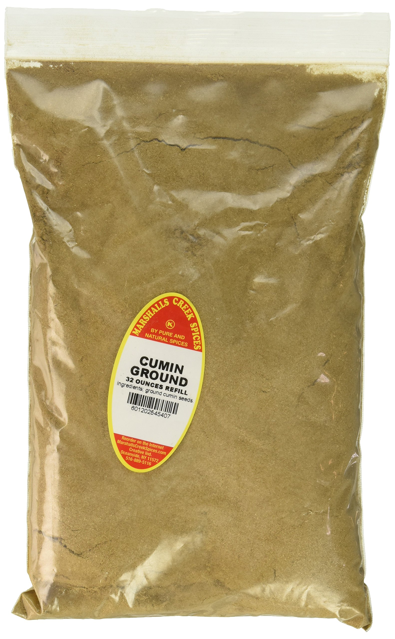 Marshalls Creek Spices Family Size Kosher Cumin Ground Refill, 32 Ounce