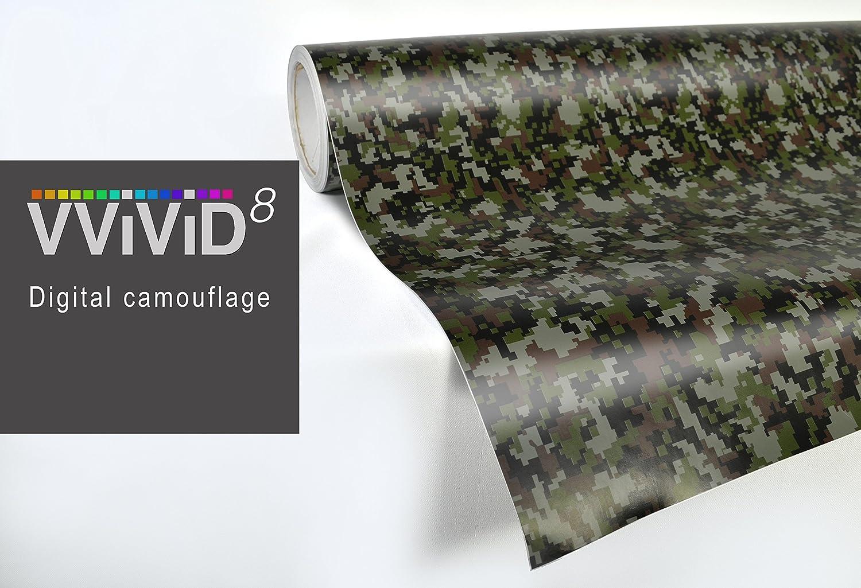 df3bf10f Amazon.com: VViViD Digital Camo vinyl car boat vehicle wrap 10ft x 5ft self  adhesive stretch conform decal DIY: Automotive