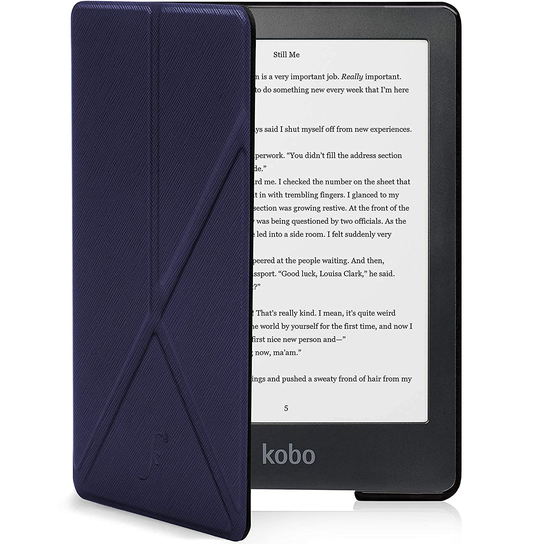 Forefront Cases Kobo Clara HD 2018 Estuche y Soporte | Funda Protectora con Cierre Magnético del eBook Reader | Plegable Tipo Origami y Función Wake ...