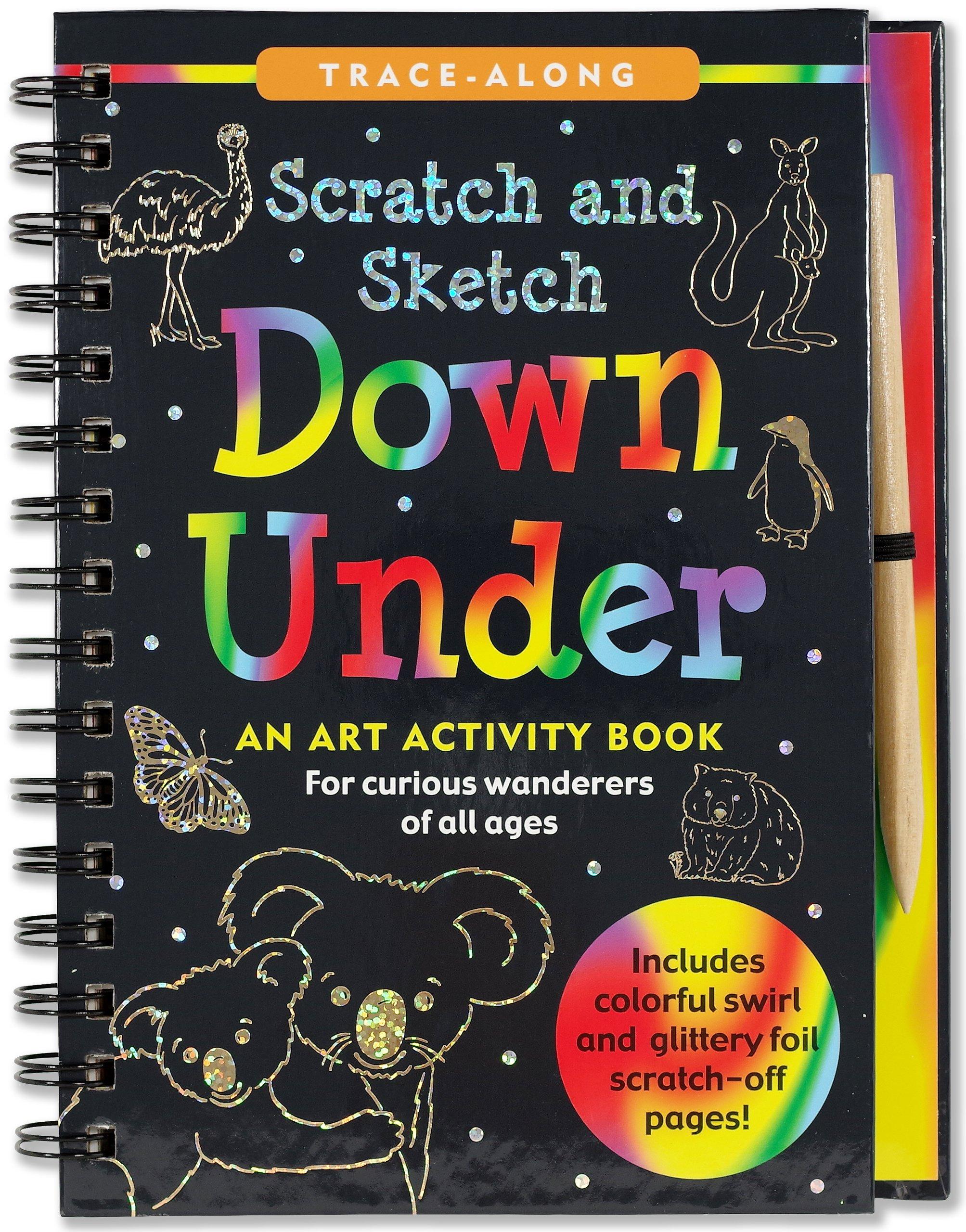 Scratch & Sketch Down Under (Trace Along)