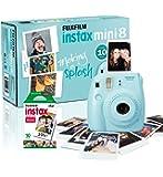 Instax Mini 8 Camera with 10 Shots - Blue