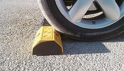 RWS-223N Tope para rueda de goma para estacionar en estacionamientos comerciales y domésticos y