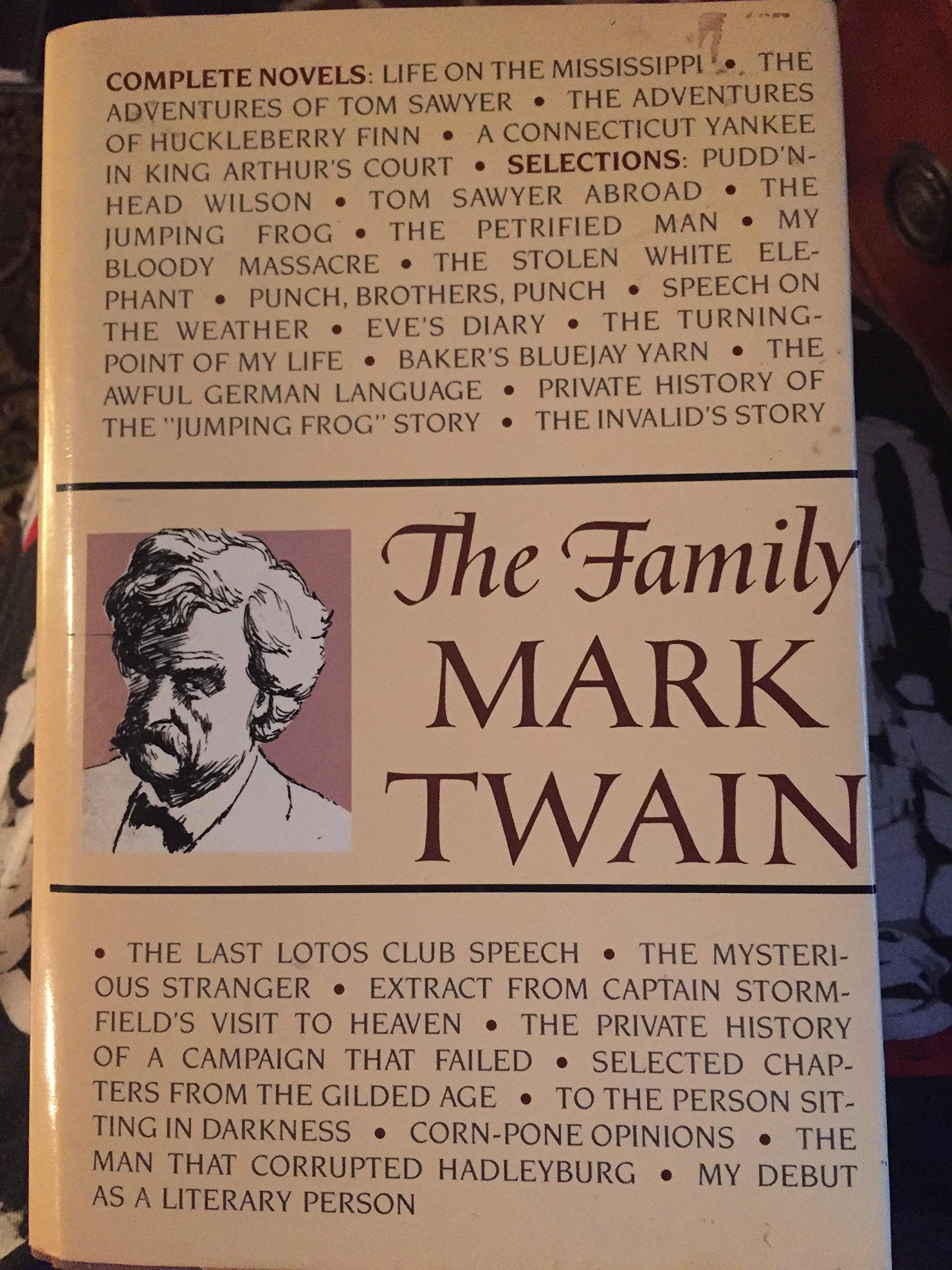 The Family Mark Twain: Mark (clemens, Samuel) Twain: Amazon