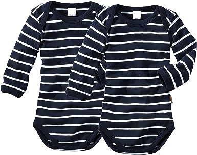 Baby Langarm-Body f/ür M/ädchen und Jungs aus 100/% Baumwolle im 3er Pack in verschiedenen Gr/ö/ßen