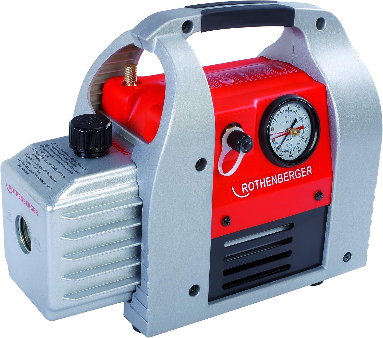 Rothenberger ROAIRVAC 1.5, Vacuum Pump 42 l/min 1 Piece 170061 190 W:  Amazon.co.uk: DIY & Tools
