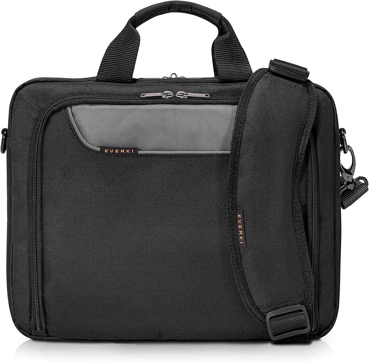 Everki Advance Bag - Briefcase for Upto 14.1-Inch Laptops (EKB407NCH14), Black