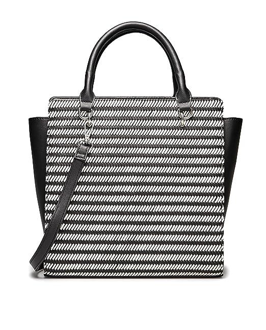Stradivarius - Bolso mochila de Sintético para mujer Blanco blanco Medium: Amazon.es: Ropa y accesorios
