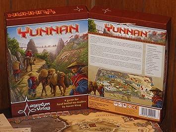 Argentum Verlag ARG01001 - Yunnan Inglés, Juego de Mesa: Amazon.es ...