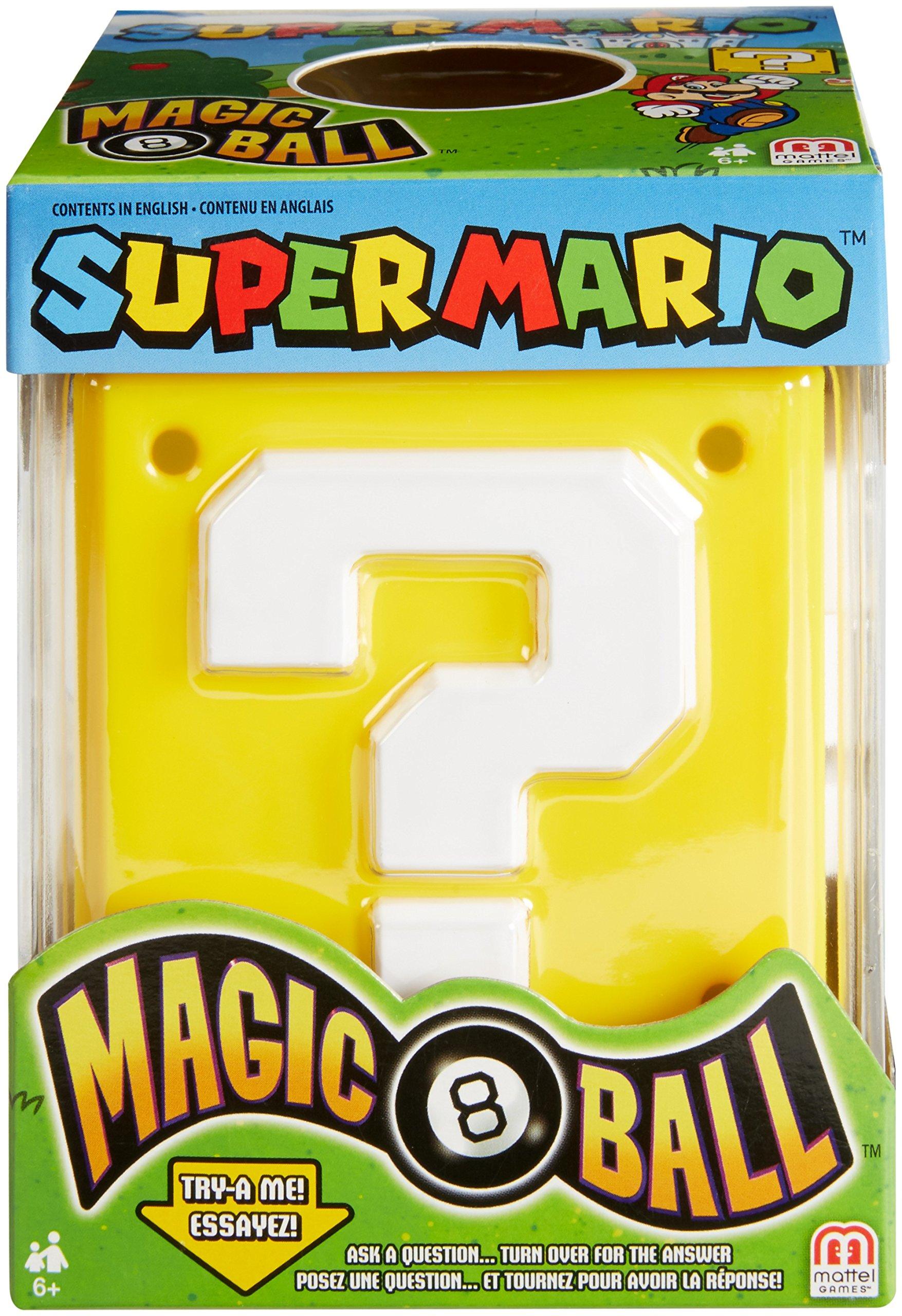 Mattel Games Magic 8 Super Mario Ball by Mattel Games