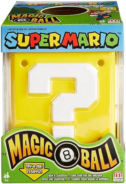 Amazon.com  Mattel Games Magic 8 Super Mario Ball  Toys   Games df645b93477d